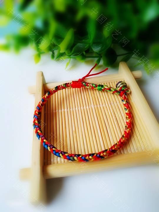 中国结论坛 简单的五彩绳  作品展示 200926lrddpww521drd212