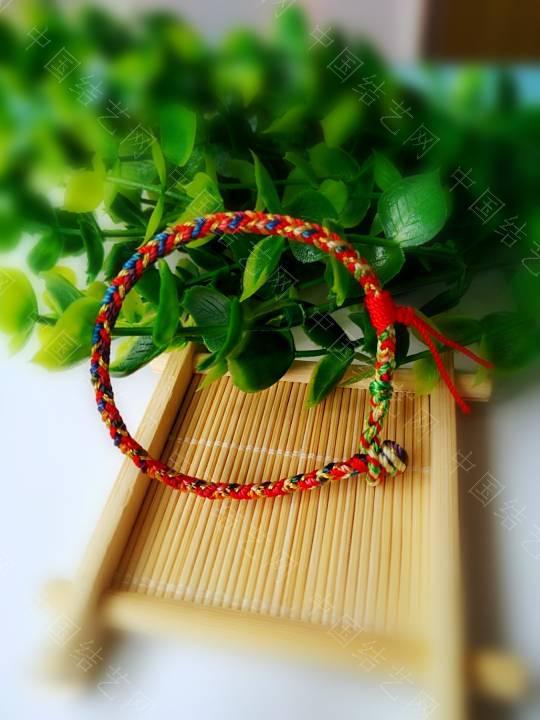 中国结论坛 简单的五彩绳  作品展示 200929wyjhh1k33keem33y