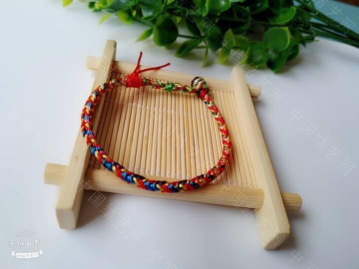 中国结论坛 简单的五彩绳  作品展示 200931uifhg8758ev3355k