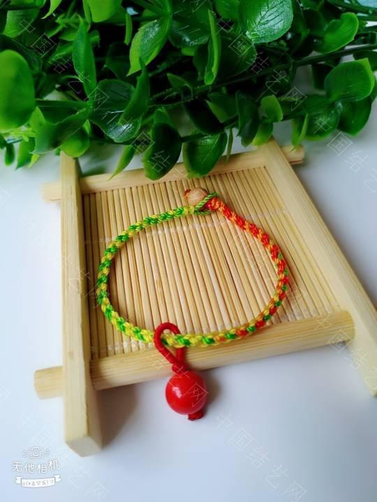 中国结论坛 简单的五彩绳  作品展示 200933yfftf5tc9um9f7cf