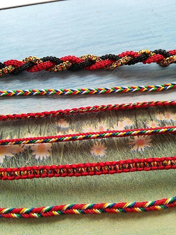 中国结论坛 端午五彩手绳,你准备了吗  作品展示 172604cft0kyutug11trog