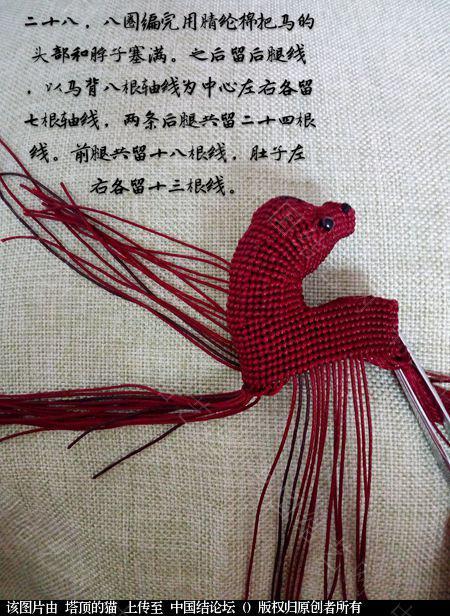 中国结论坛 十二生肖之小马  立体绳结教程与交流区 191554m0w40qwtv04yazr4