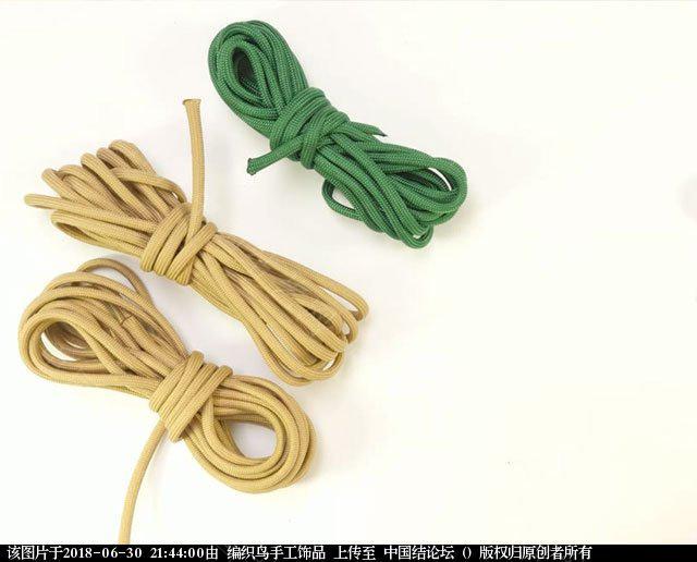 中国结论坛 伞绳编织,斧柄编织教程  图文教程区 214332mnl2w49rn29nvhar
