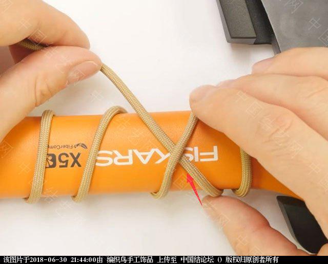 中国结论坛 伞绳编织,斧柄编织教程  图文教程区 214334vhh5lk8swu79rxp9