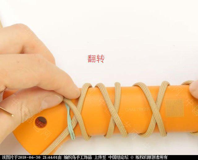 中国结论坛 伞绳编织,斧柄编织教程  图文教程区 214335tvbgn9554opzq25q