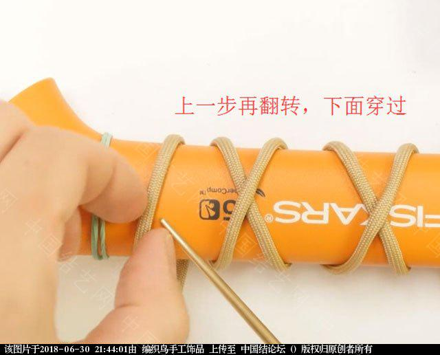 中国结论坛 伞绳编织,斧柄编织教程  图文教程区 214335wygv1430bg34jzgg