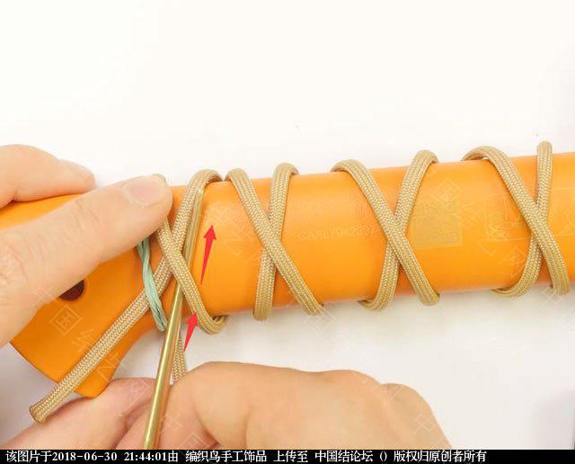 中国结论坛 伞绳编织,斧柄编织教程  图文教程区 214336hgsj1ug6tnnzxpo0