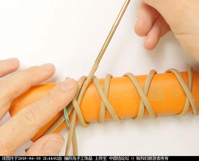 中国结论坛 伞绳编织,斧柄编织教程  图文教程区 214336oxlss137ls5515x7