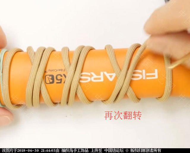 中国结论坛 伞绳编织,斧柄编织教程  图文教程区 214338u159i5wu159i99rw