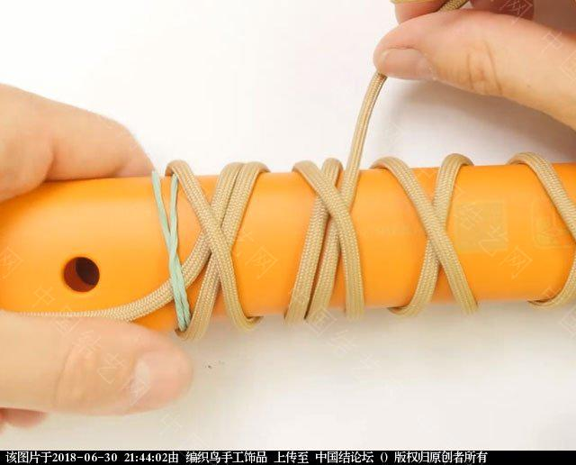 中国结论坛 伞绳编织,斧柄编织教程  图文教程区 214338z4zxylbx86bxkbbb
