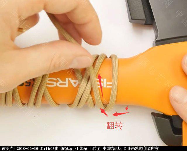 中国结论坛 伞绳编织,斧柄编织教程  图文教程区 214339o0bggfzovqr5qg5g
