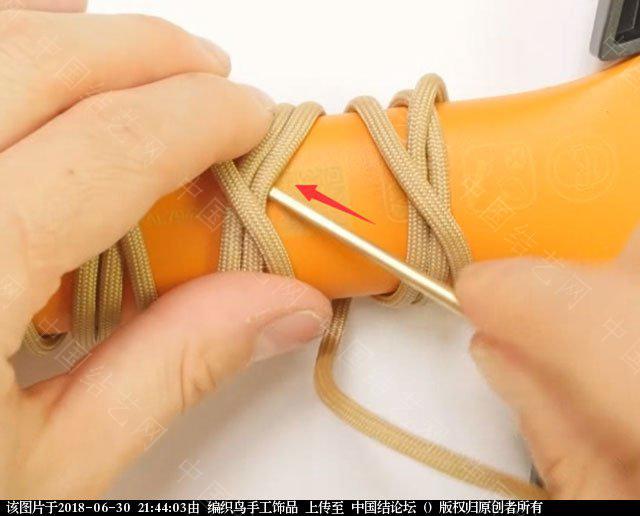 中国结论坛 伞绳编织,斧柄编织教程  图文教程区 214340xqdzt73vrvym1tv1