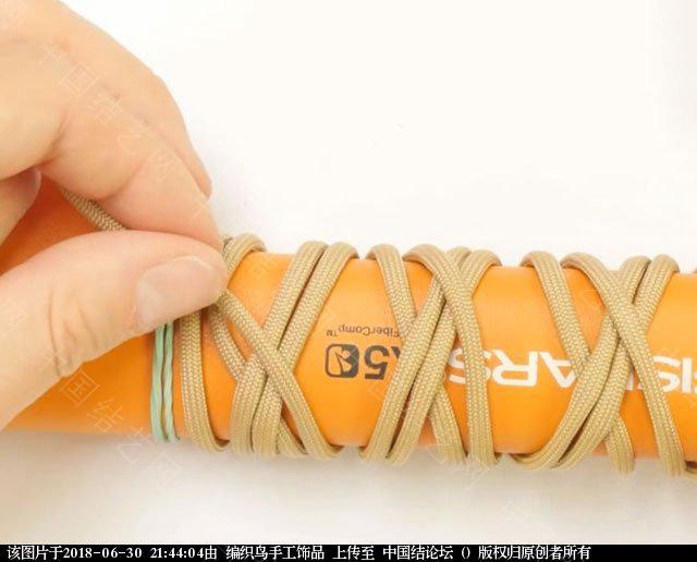 中国结论坛 伞绳编织,斧柄编织教程  图文教程区 214341r2k1qw0mnbkgu0wq