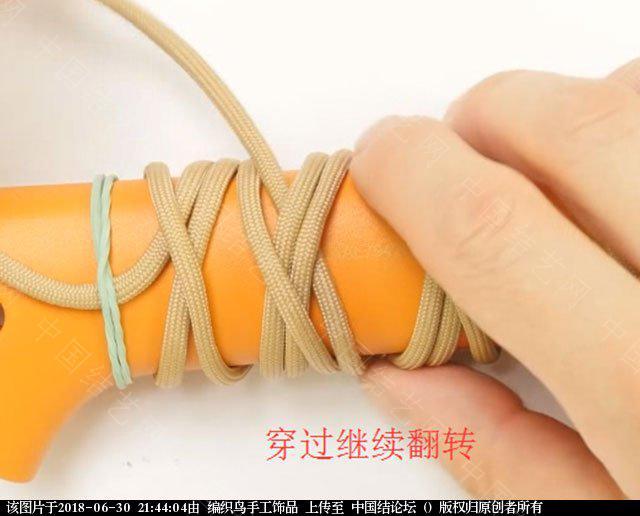 中国结论坛 伞绳编织,斧柄编织教程  图文教程区 214341y4mlcv4lb1l2hb0s
