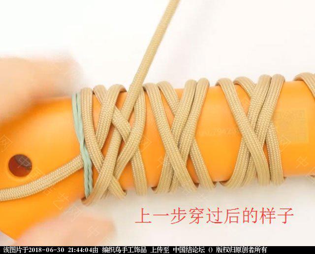 中国结论坛 伞绳编织,斧柄编织教程  图文教程区 214342d4x0xgp4a11texqx