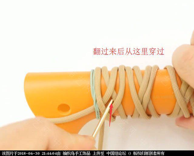 中国结论坛 伞绳编织,斧柄编织教程  图文教程区 214342ysxxupgvsw55vgiu