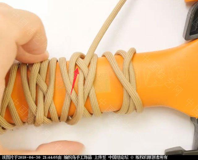 中国结论坛 伞绳编织,斧柄编织教程  图文教程区 214343nvieqlb0hsqvxzgk