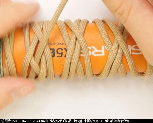 中国结论坛 伞绳编织,斧柄编织教程  图文教程区 214344mebjh589jh88hqh5