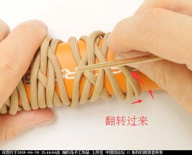 中国结论坛 伞绳编织,斧柄编织教程  图文教程区 214344tp7ptsswopew5s37