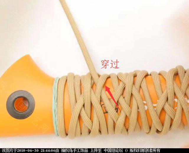 中国结论坛 伞绳编织,斧柄编织教程  图文教程区 214346b2n22eebe9g72een