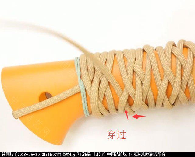 中国结论坛 伞绳编织,斧柄编织教程  图文教程区 214346hcebqcmbb3qqibbm