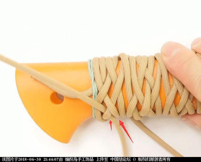 中国结论坛 伞绳编织,斧柄编织教程  图文教程区 214347ymal9as3slae3mwg