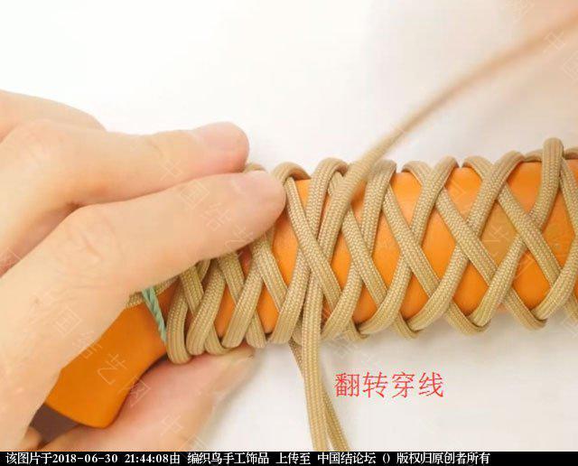 中国结论坛 伞绳编织,斧柄编织教程  图文教程区 214349m5pspoxdzb53b3o3