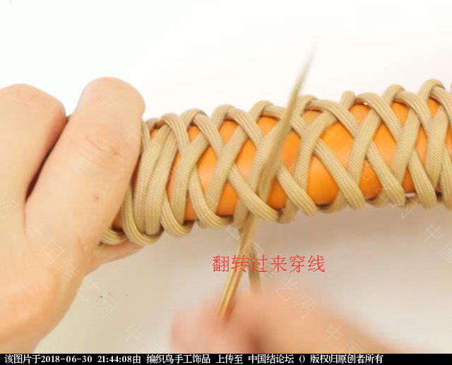 中国结论坛 伞绳编织,斧柄编织教程  图文教程区 214349qq1mq1kk0gja0qkq