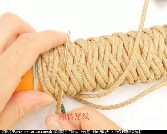 中国结论坛 伞绳编织,斧柄编织教程  图文教程区 214350dilyz32qtti2ee9v