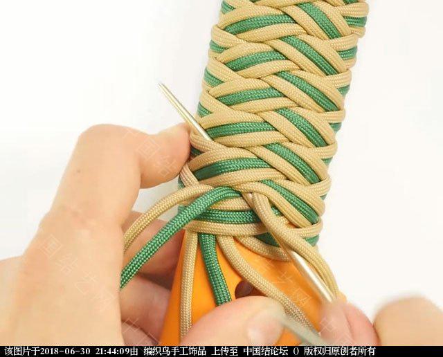 中国结论坛 伞绳编织,斧柄编织教程  图文教程区 214351qbz55iibx9nb0xs9