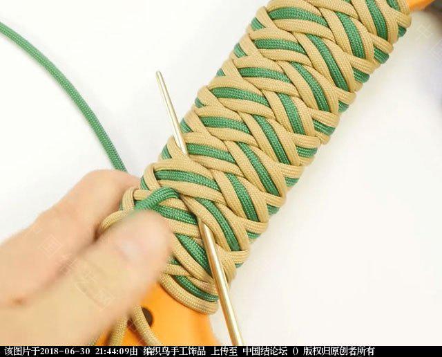 中国结论坛 伞绳编织,斧柄编织教程  图文教程区 214351qiftjlrhven4hwvs