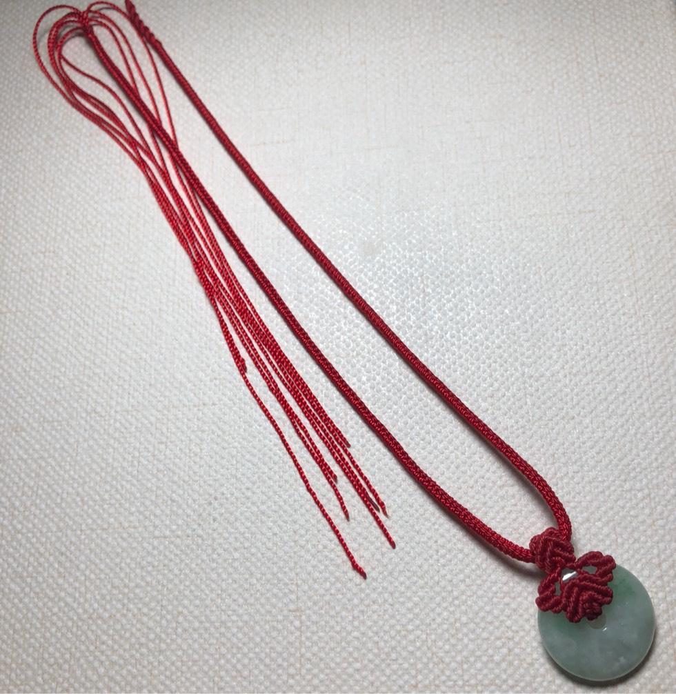 中国结论坛 平安扣项链绳  作品展示 173040e2afjhffi6jij2ii