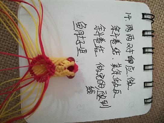 中国结论坛 小金鱼,试着写了一个,请多指教  立体绳结教程与交流区 232747fgp2ybrymbolnpsl