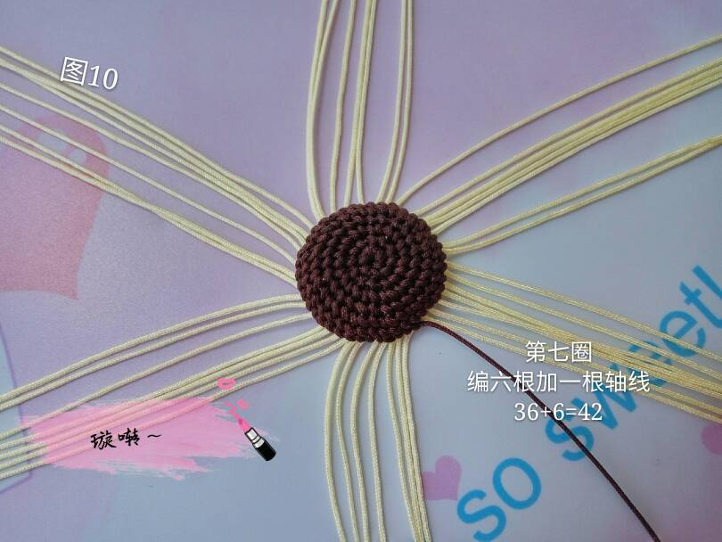 中国结论坛 忧郁的小猴子教程  立体绳结教程与交流区 174420ruo2z1sgsu2shyi3