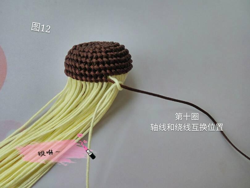 中国结论坛 忧郁的小猴子教程  立体绳结教程与交流区 174421xqcjj8q1s65vvqz6