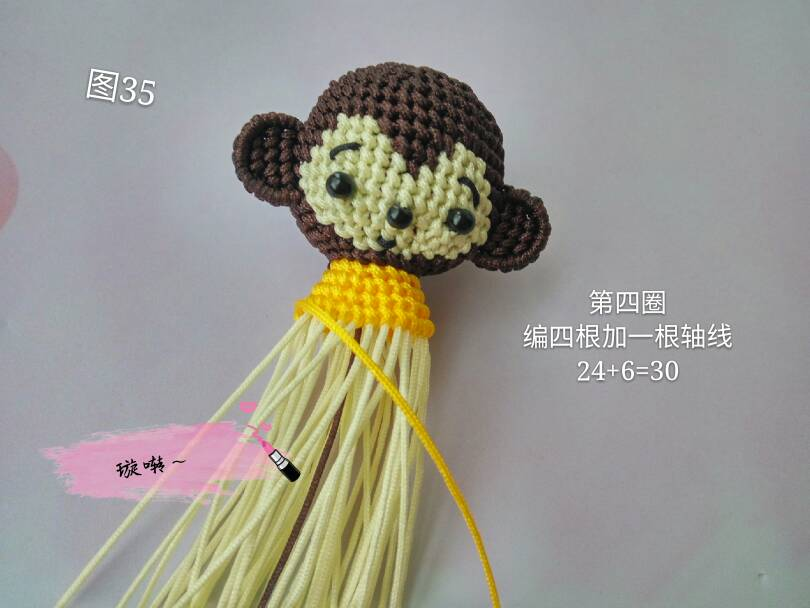 中国结论坛 忧郁的小猴子教程  立体绳结教程与交流区 174442s75mugpuf5jj9g5p