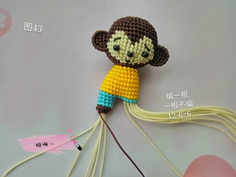 中国结论坛 忧郁的小猴子教程  立体绳结教程与交流区 174449eo6mozg5po76ozau
