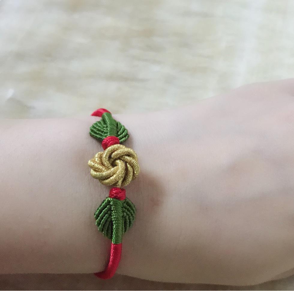 中国结论坛 曼陀罗花和叶子手链  作品展示 222602gnlp01448ljpj5nk