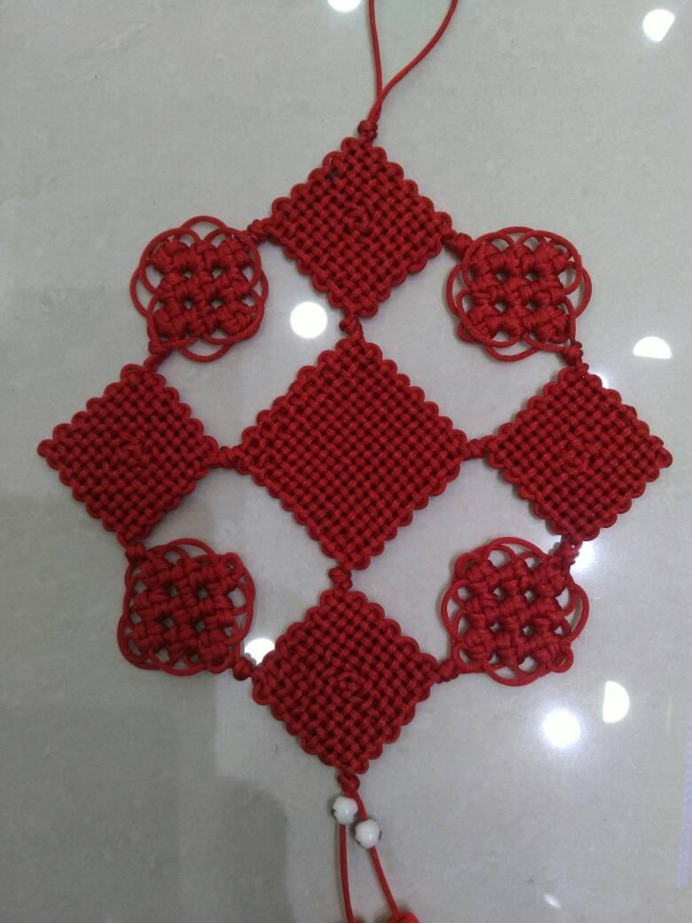 中国结论坛 冰花和盘长的结合  作品展示 221435nzyyo1veyp4b9o9t