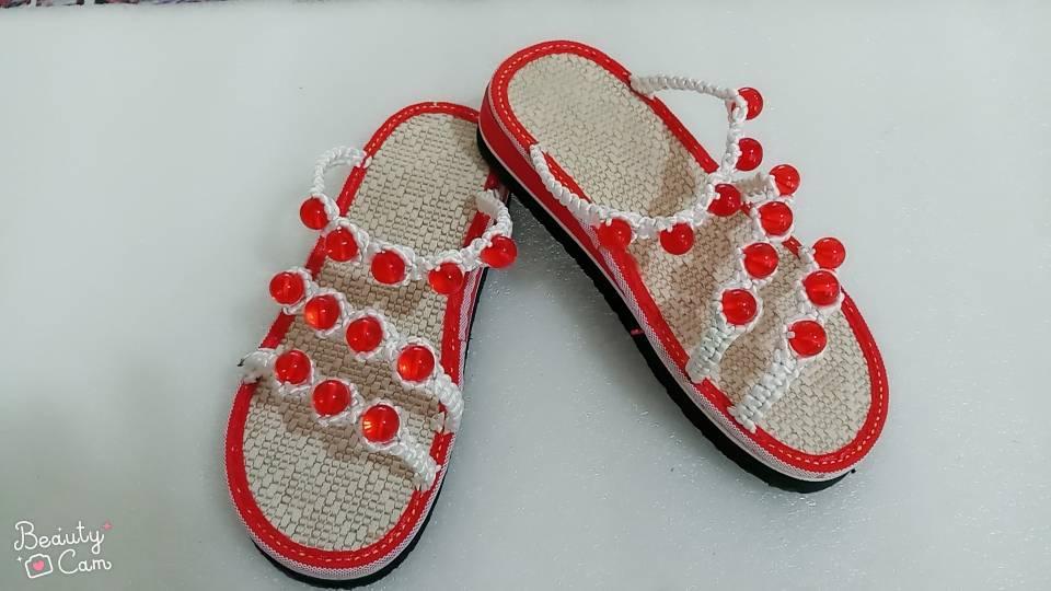 中国结论坛 手编凉鞋  作品展示 074440ux6x6j6cxs37xdm3