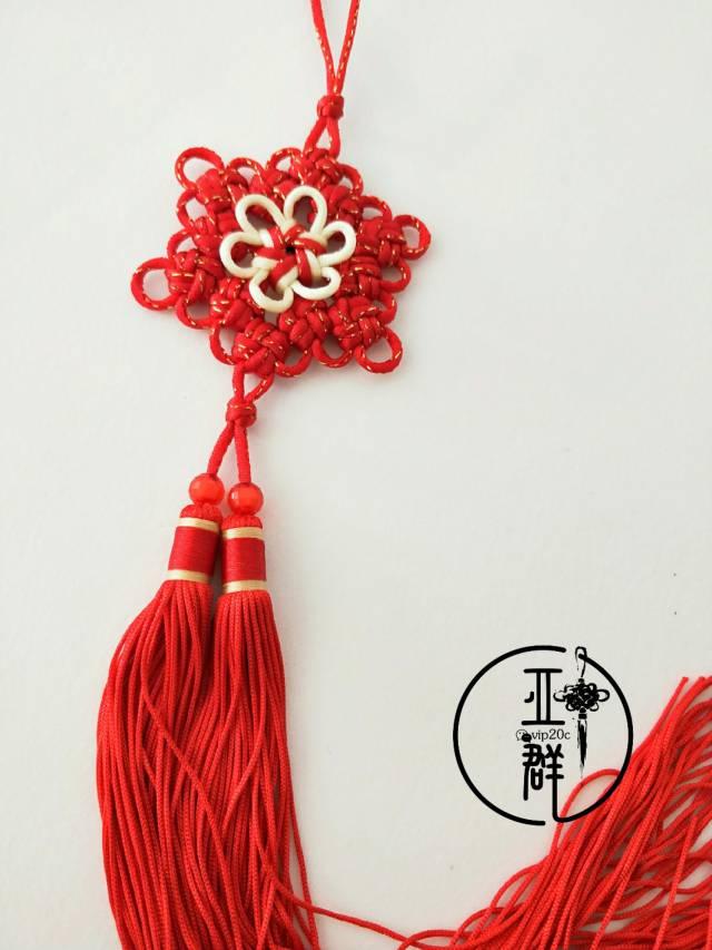 中国结论坛 桃花结挂饰  作品展示 164420ku38a23hupu9883p