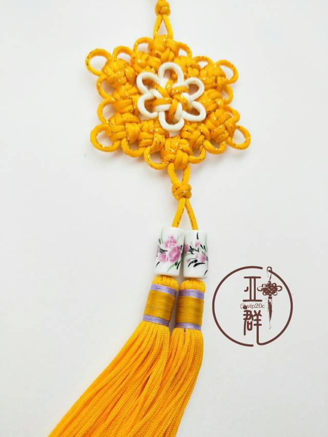 中国结论坛 桃花结挂饰  作品展示 164421kj534h5e9tmb4eu4
