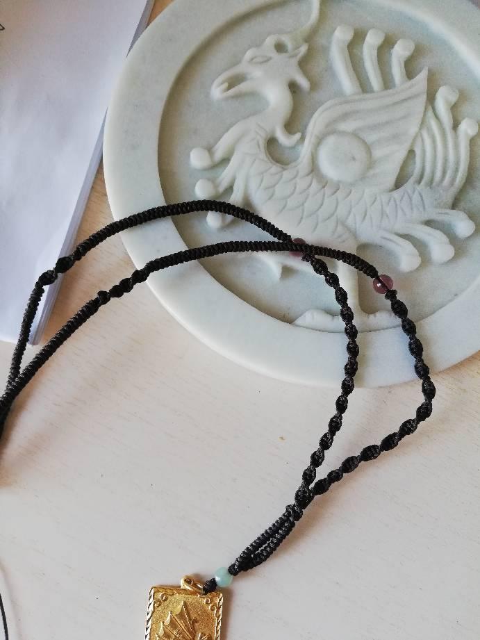 中国结论坛 今天编的一条绳链  作品展示 223437hmdstmu2xxd3lx22