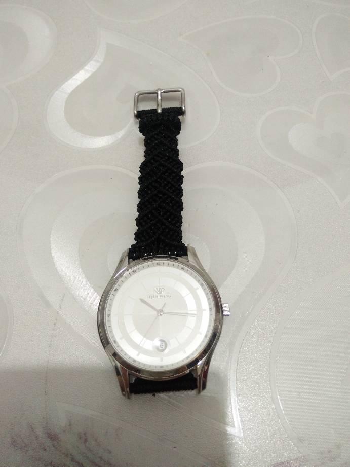 中国结论坛 做了一个手表带  作品展示 231022usom3i1ei3emb1ov