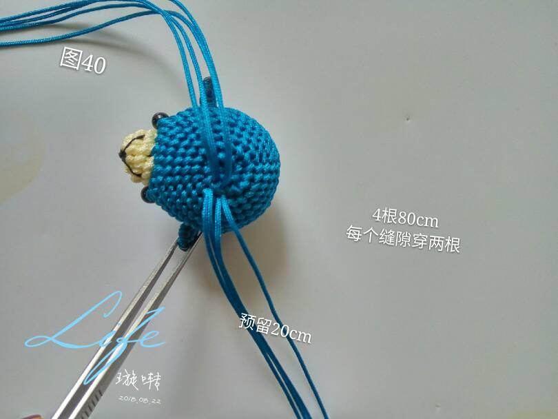 中国结论坛 指环小熊教程  立体绳结教程与交流区 152730leyw8qrqn85einv0