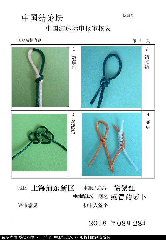 中国结论坛 感冒的萝卜——初级达标申请稿件  中国绳结艺术分级达标审核 103428tigzryiaw0cearc2