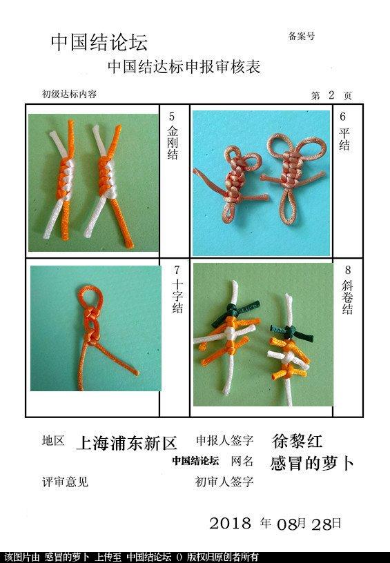 中国结论坛 感冒的萝卜——初级达标申请稿件  中国绳结艺术分级达标审核 103447s2fwfzfg8alzsebt