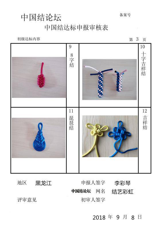 中国结论坛 结艺彩虹初级申报稿件  中国绳结艺术分级达标审核 141510wml650gl66gxsbpg