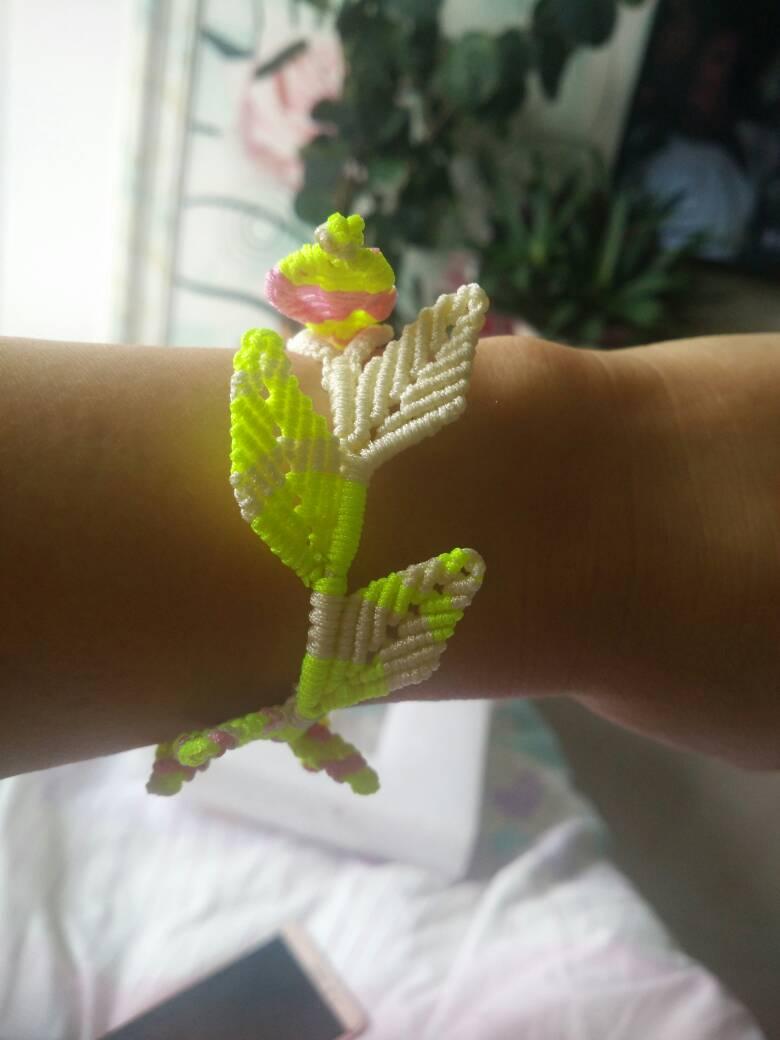 中国结论坛 跟老师学的树叶手链,谢谢了!!  作品展示 124848ogkxhhagt5gdbkgc