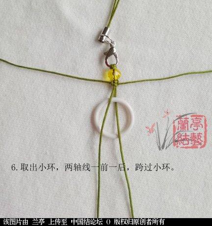 中国结论坛 雀头结手机链(初级)  兰亭结艺 133605nbvviqgqg1pil3gg